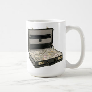 Money Suitcase Coffee Mugs