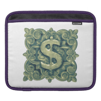 Money Symbol Ornament iPad Sleeve