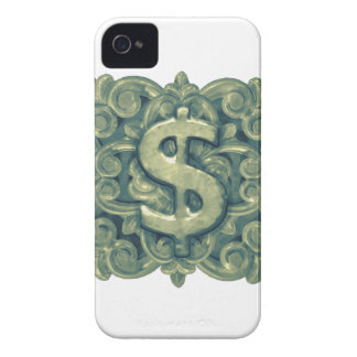 Money Symbol Ornament iPhone 4 Cover