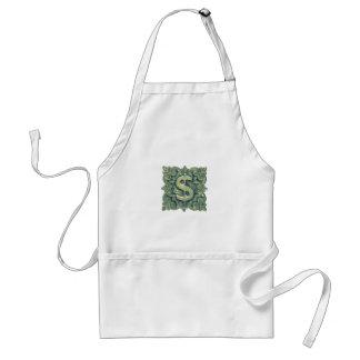 Money Symbol Ornament Standard Apron