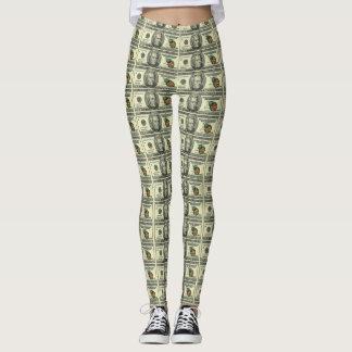 MONEY TIMES MONEY TIMES MONEY LEGGINGS