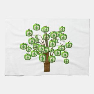 money tree hand towels