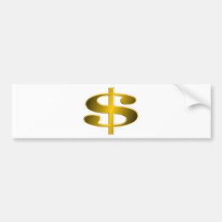 Money -- USA Dollar Bumper Sticker