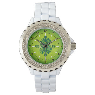 Money Watch - Green