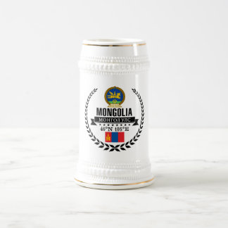 Mongolia Beer Stein