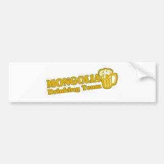 MONGOLIA BUMPER STICKER