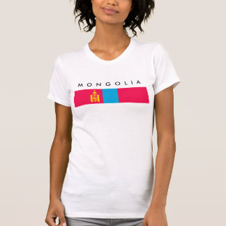 Mongolia country flag nation symbol T-Shirt