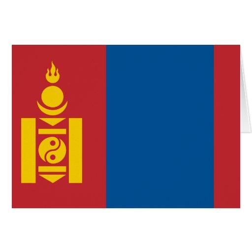 Mongolia Flag Cards