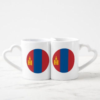 Mongolia Flag Coffee Mug Set