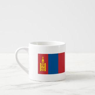Mongolia Flag Espresso Cup