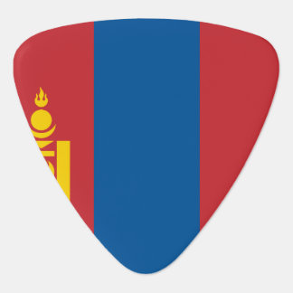 Mongolia Flag Guitar Pick