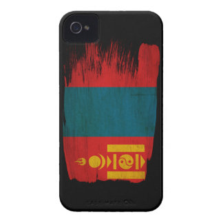 Mongolia Flag iPhone 4 Cases