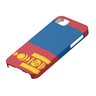 Mongolia Flag iPhone 5 Cases