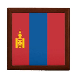 Mongolia Flag Large Square Gift Box