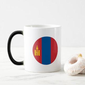 Mongolia Flag Magic Mug