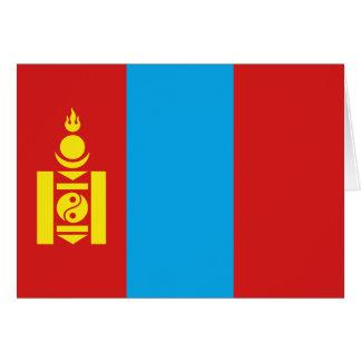 Mongolia Flag Notecard Cards