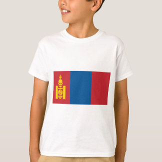 Mongolia Flag T-Shirt