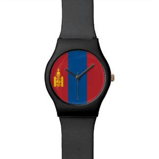 Mongolia Flag Watch