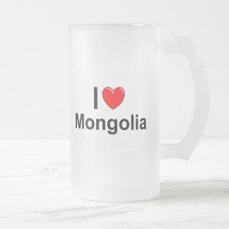 Mongolia Frosted Glass Beer Mug