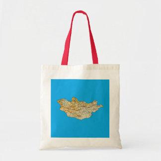 Mongolia Map Bag