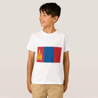 Mongolia National World Flag T-Shirt