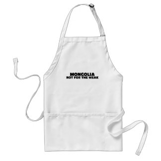 Mongolia-Not for the Weak Standard Apron