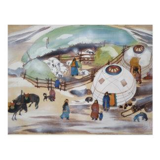Mongolia postcard