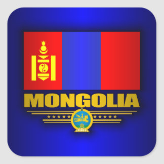 Mongolia Pride Square Sticker