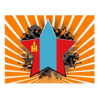 Mongolia Star Postcard