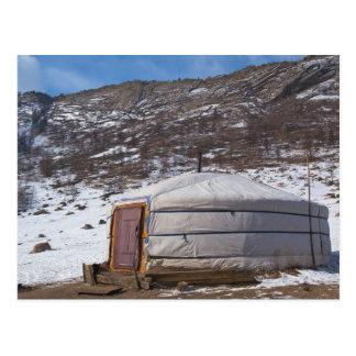 Mongolian Countryside photography Postcard