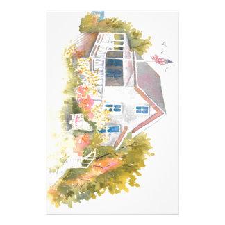 Monhegan Cottage J Kilburn Stationery