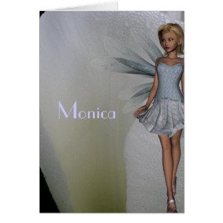 Monica Greeting Card