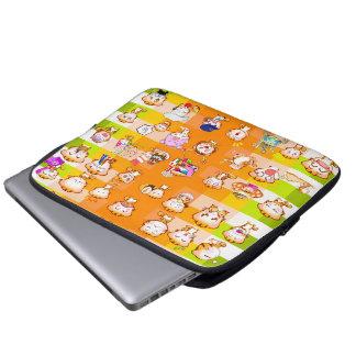 Monikako mix laptop sleeve