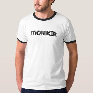 Moniker men's ringer T Shirt