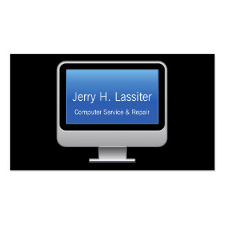 Monitor Card Business Cards