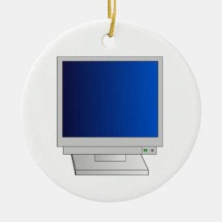 Monitor Ceramic Ornament