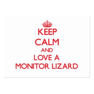Monitor Lizard Business Card