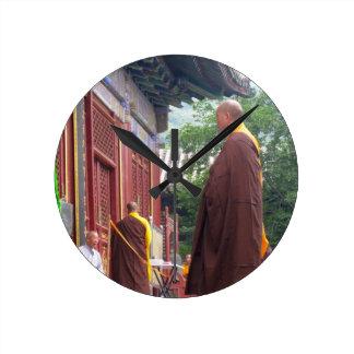 Monk Wall Clocks