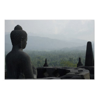 Monk of Borobudur Poster