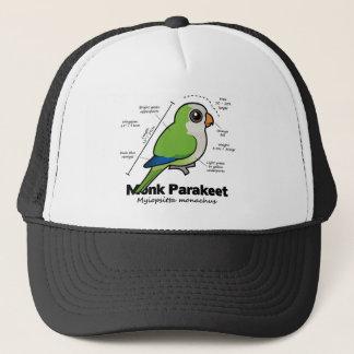Monk Parakeet Statistics Trucker Hat