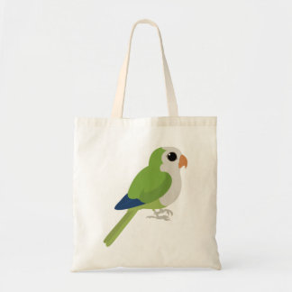 Monk Parakeet Tote Bag