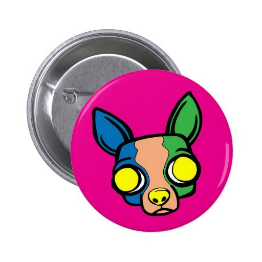 Monk Puppy Pin - Pink