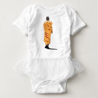 Monk Walking Baby Bodysuit