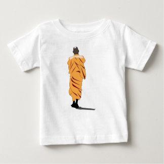 Monk Walking Baby T-Shirt