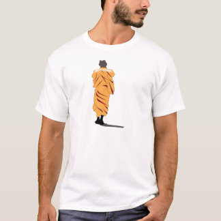 Monk Walking T-Shirt