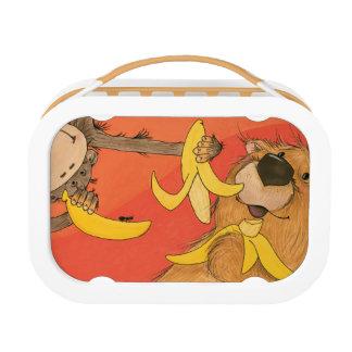 Monkey and Bear / Yubo Lunchbox