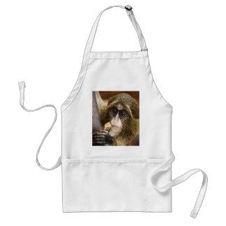 monkey baby apron