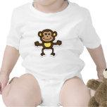 monkey baby bodysuits
