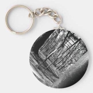 Monkey Bars Basic Round Button Key Ring
