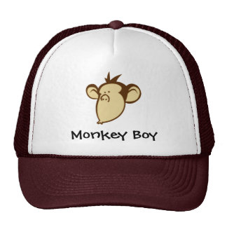 Monkey Boy Hat